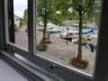 Uitzicht slaapkamer het Kadehuisje